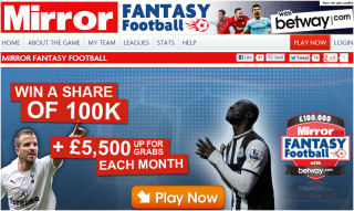Daily Mirror Fantasy Football