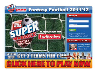 Daily Star Fantasy Football