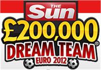 CLICK HERE for Sun Dream Team Euro 2012 Fantasy Football